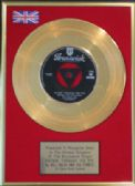 "BILL HALEY/COMETS - 7""Gold Disc-ROCKIN' THROUGH THE RYE"